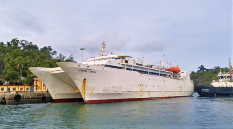 Ferries to reach Hutbay