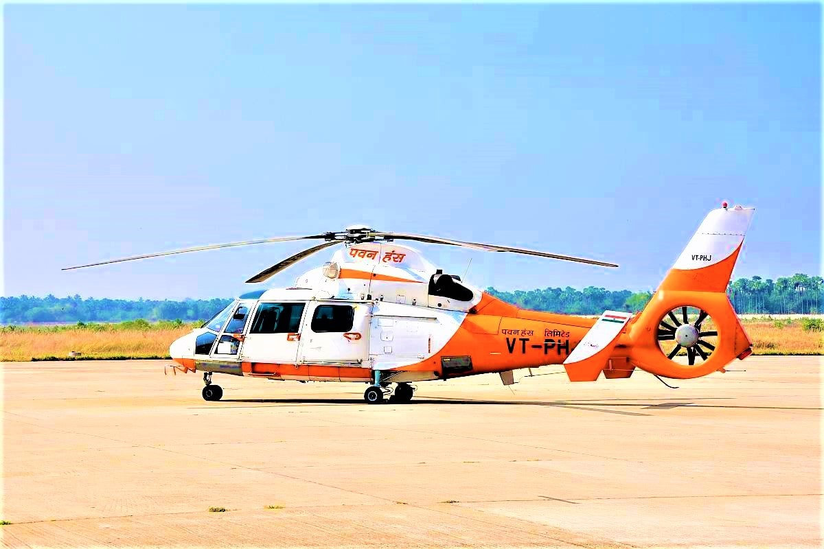 Helicopter to reach Hutbay