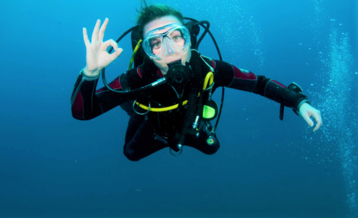 Safety while diving
