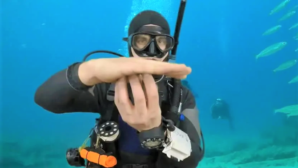 Diving with safety
