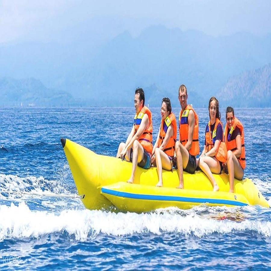 Banana Boat Ride in Havelock Island